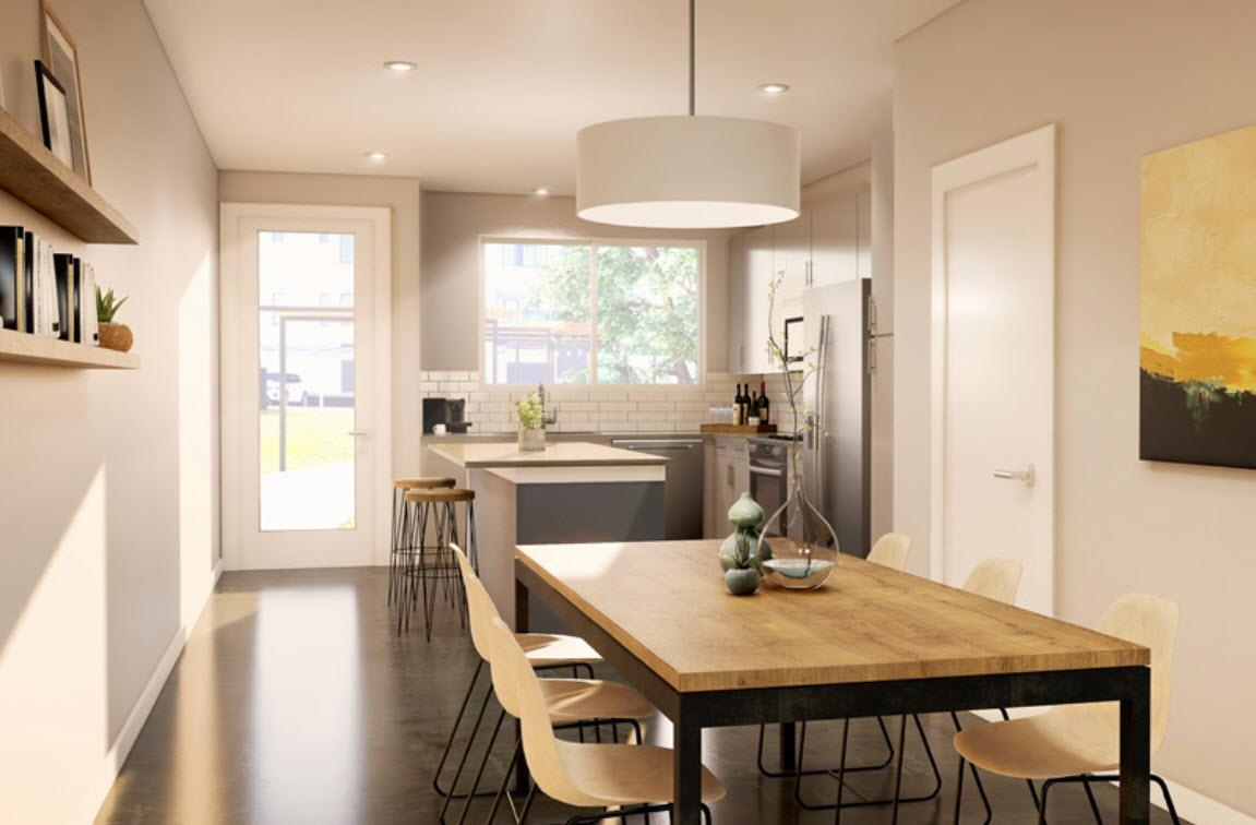 Kitchen featured in the Unit A2 By StoryBuilt in San Antonio, TX