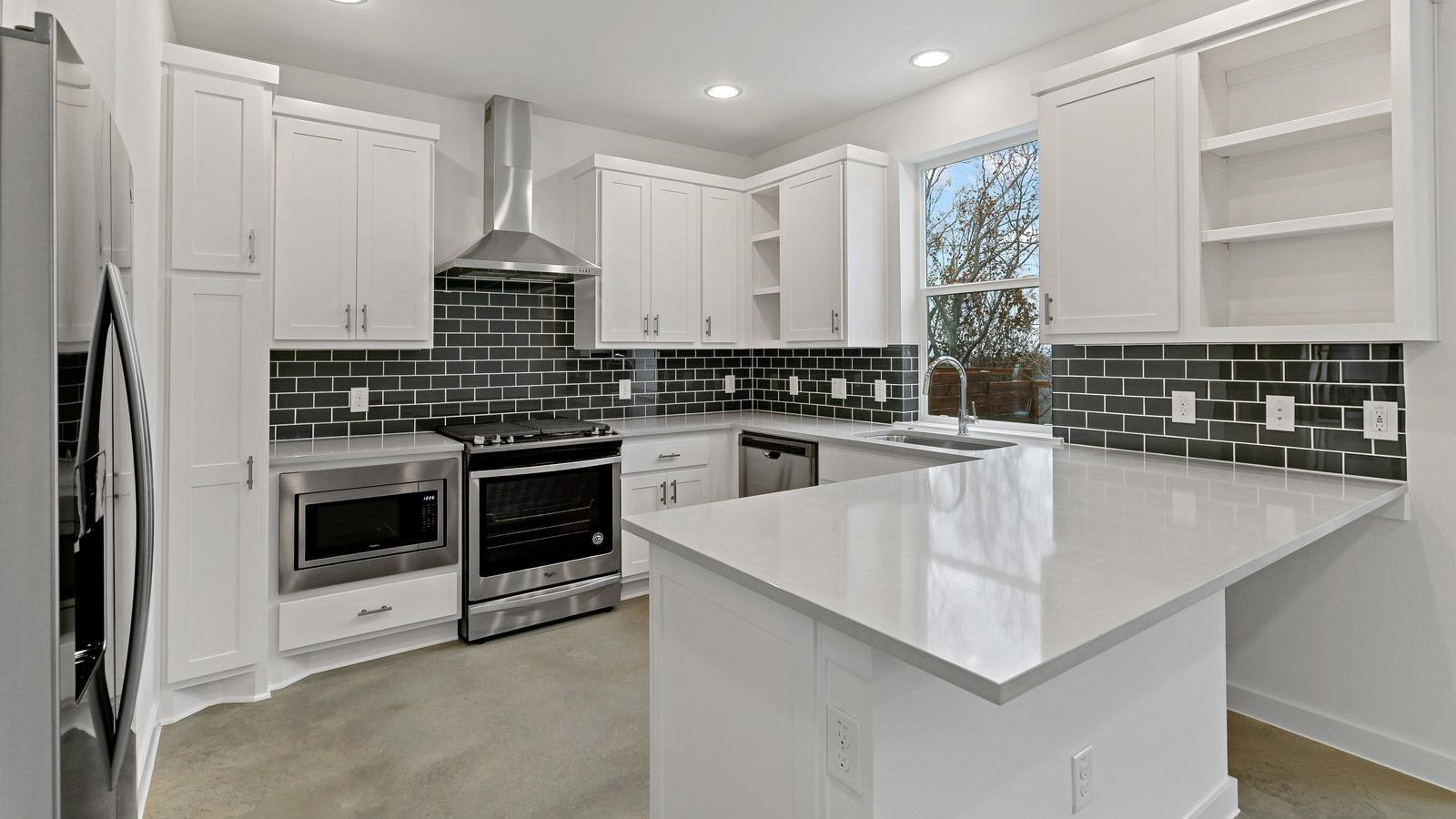 Kitchen featured in the Home E2 By StoryBuilt in Dallas, TX