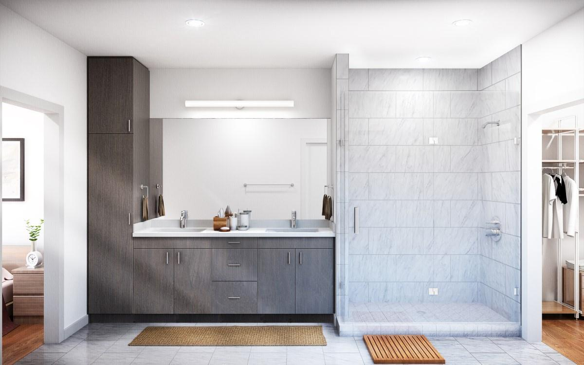 Bathroom featured in the Residence C2 By StoryBuilt in Austin, TX