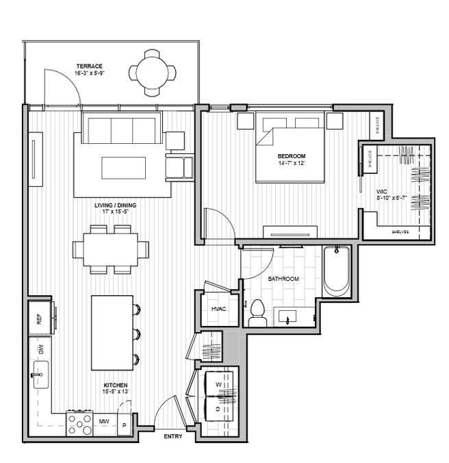 1600 S 1ST STREET (Residence 1C)