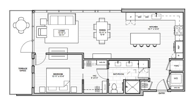 1600 S 1ST STREET (Residence 1D)