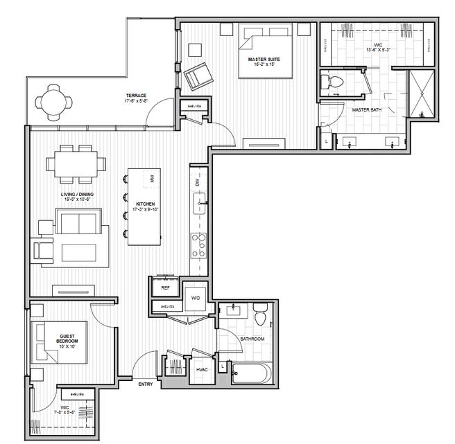 1600 S 1ST STREET (Residence 2D)