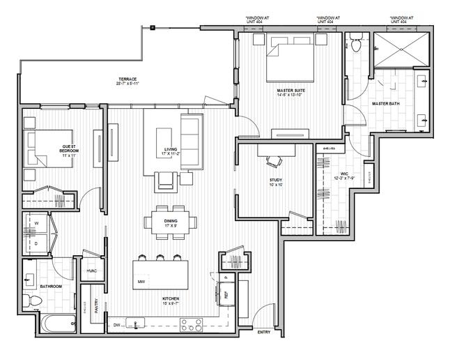 1600 S 1ST STREET (Residence 2G)