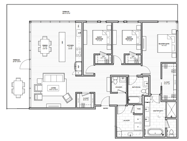 1600 S 1ST STREET (Residence 3B)
