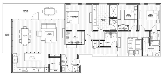 1600 S 1ST STREET (Residence 3C)
