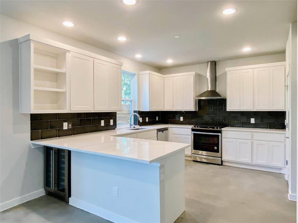 Kitchen featured in the Home E By StoryBuilt in Dallas, TX