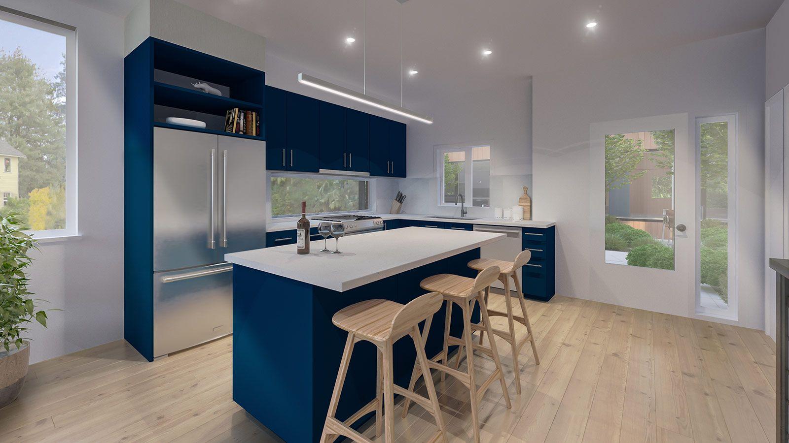 Kitchen featured in the Plan B2 By StoryBuilt in Seattle-Bellevue, WA