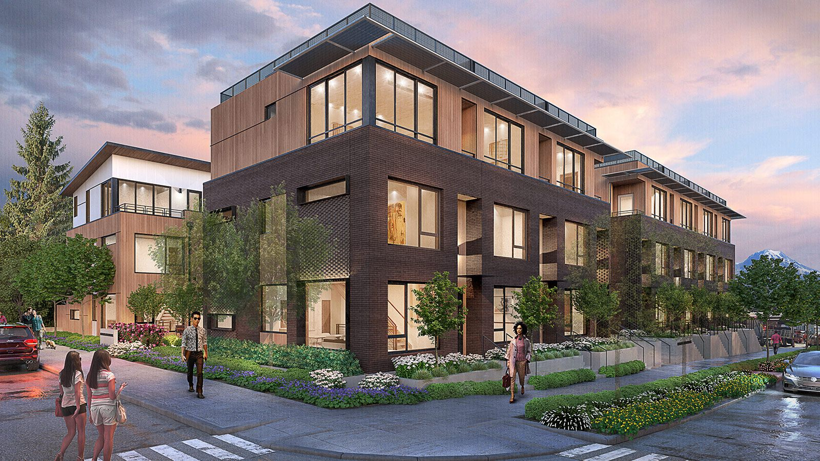 Exterior featured in the Plan B2 By StoryBuilt in Seattle-Bellevue, WA
