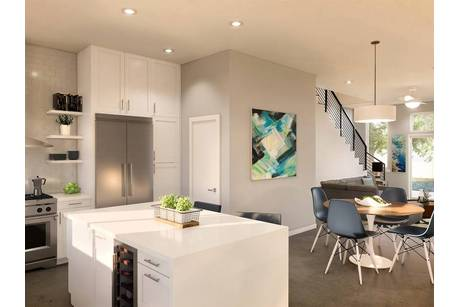 Kitchen-in-TH-A2-at-Bouldin Court-in-Austin
