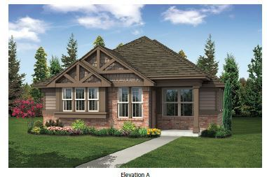 Front Exterior:Elevation A
