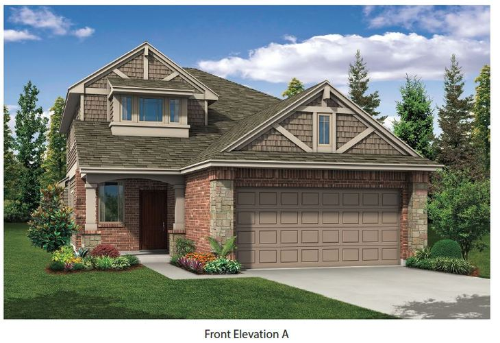 Wright II Exterior:Elevation A