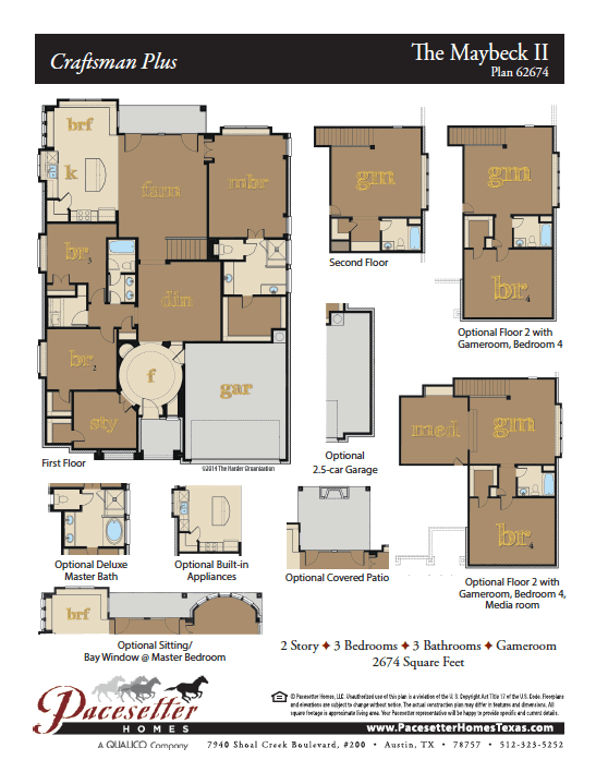 Maybeck II Floor Plan