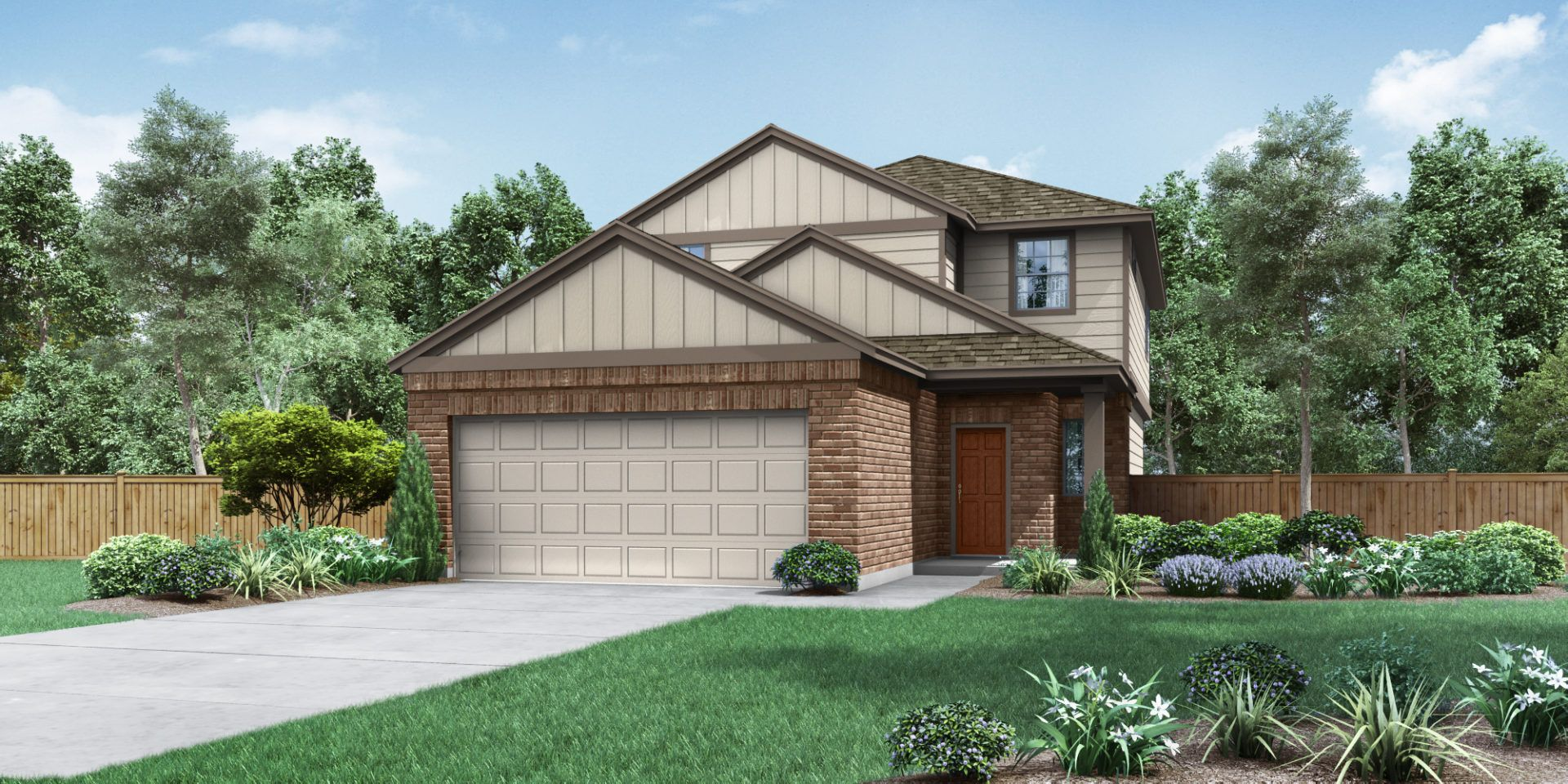Exterior featured in The Hartley By Pacesetter Homes Texas in Austin, TX