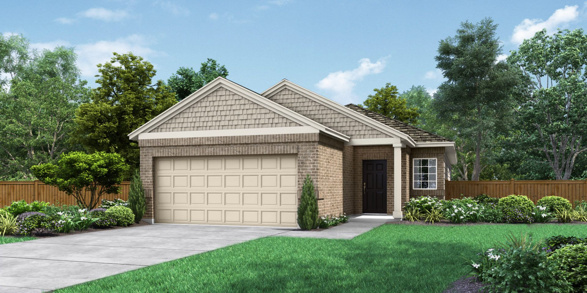 Exterior featured in The Angelina By Pacesetter Homes Texas in Austin, TX
