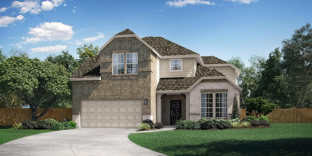 Exterior featured in The Grapevine By Pacesetter Homes Texas in Dallas, TX