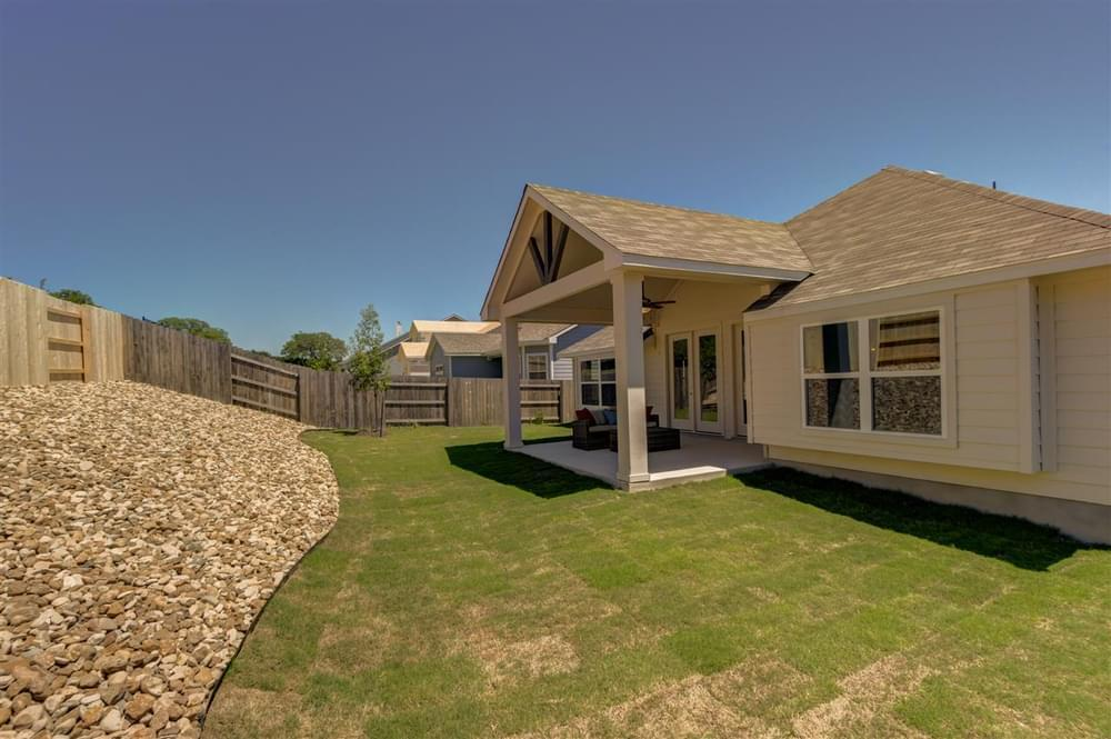 Exterior featured in The Maybeck I By Pacesetter Homes Texas in Austin, TX
