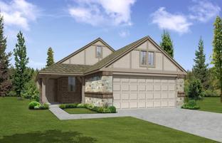 The Melrose - Aubrey Creek Estates: Aubrey, Texas - Pacesetter Homes Texas