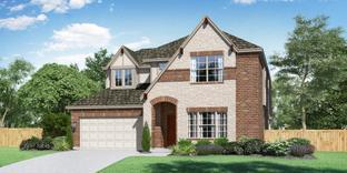 The Garland - Aubrey Creek Estates: Aubrey, Texas - Pacesetter Homes Texas