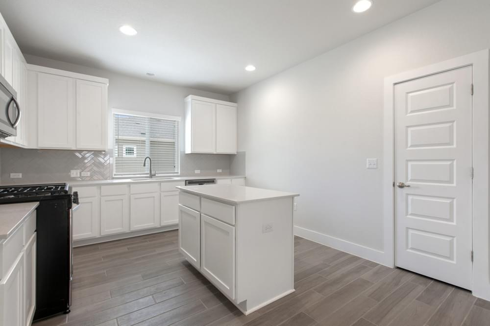 Kitchen featured in The Court By Pacesetter Homes Texas in Austin, TX