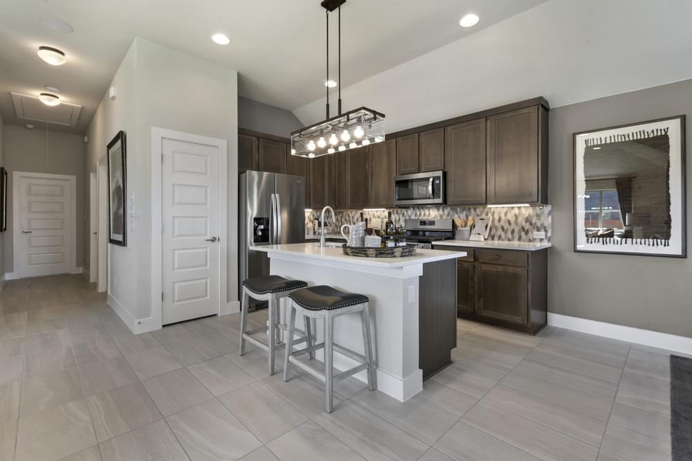 Kitchen featured in The Palermo By Pacesetter Homes Texas in Austin, TX