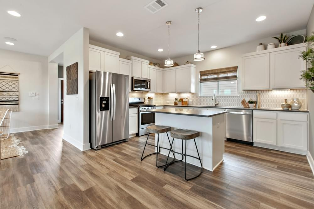 Kitchen featured in The Angelina By Pacesetter Homes Texas in Austin, TX