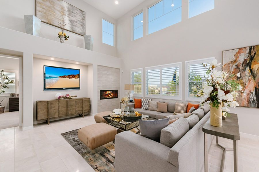 Living Area featured in the Plan 2 - Model Home Available By Pacific Communities in Los Angeles, CA