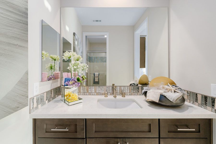 Bathroom featured in the Plan 2 - Model Home Available By Pacific Communities in Los Angeles, CA