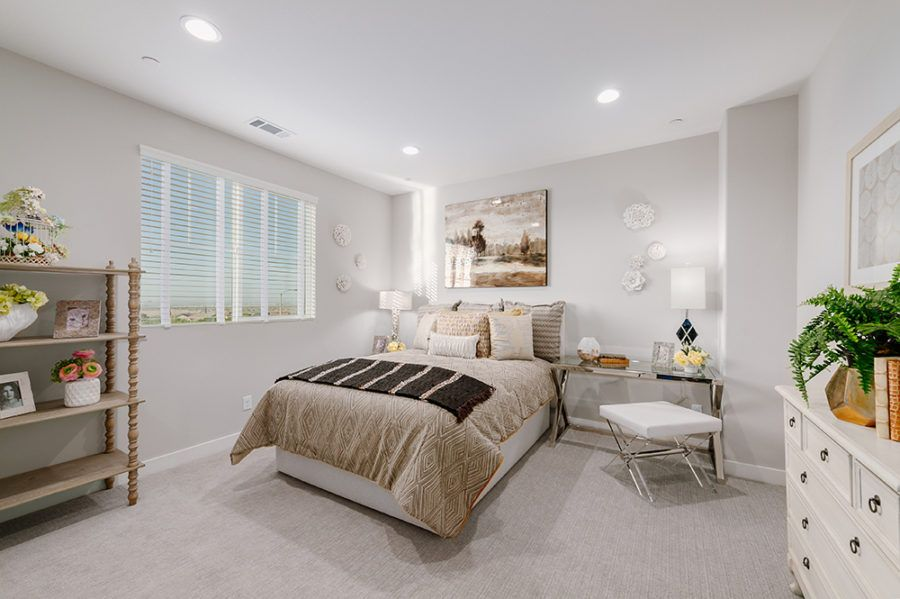 Bedroom featured in the Plan 2 - Model Home Available By Pacific Communities in Los Angeles, CA
