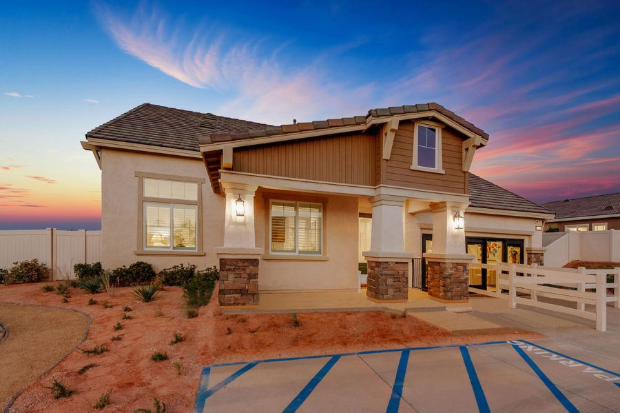 Exterior featured in the Plan 2 - Model Home Available By Pacific Communities in Los Angeles, CA