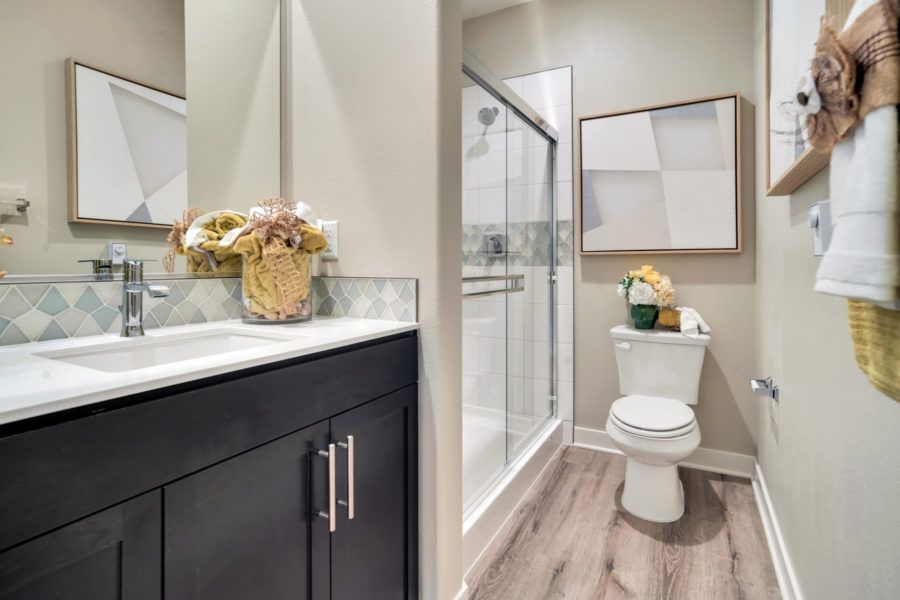 Bathroom featured in the Plan 5 By Pacific Communities in Los Angeles, CA