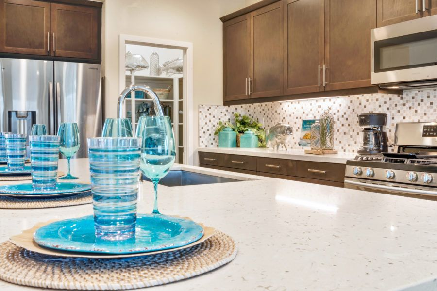 Kitchen featured in the Plan 2 By Pacific Communities in Los Angeles, CA