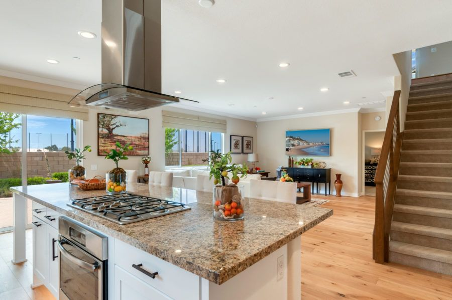 Kitchen featured in the Plan 5 Model Available By Pacific Communities