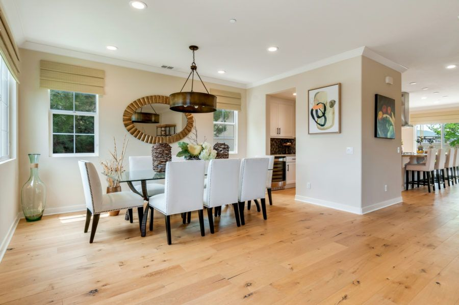Living Area featured in the Plan 5 Model Available By Pacific Communities