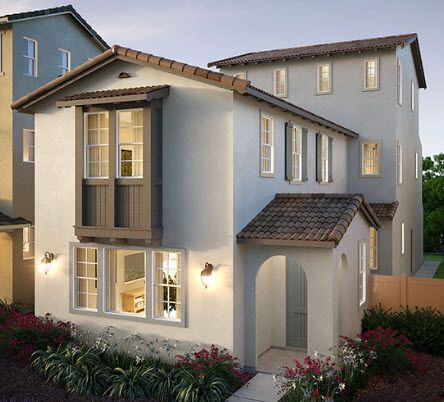 Elevation A:Monte Villa Residence 3X