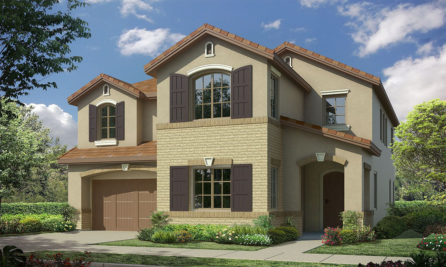 Exterior featured in the Residence 2 By Baldwin & Sons in Orange County, CA
