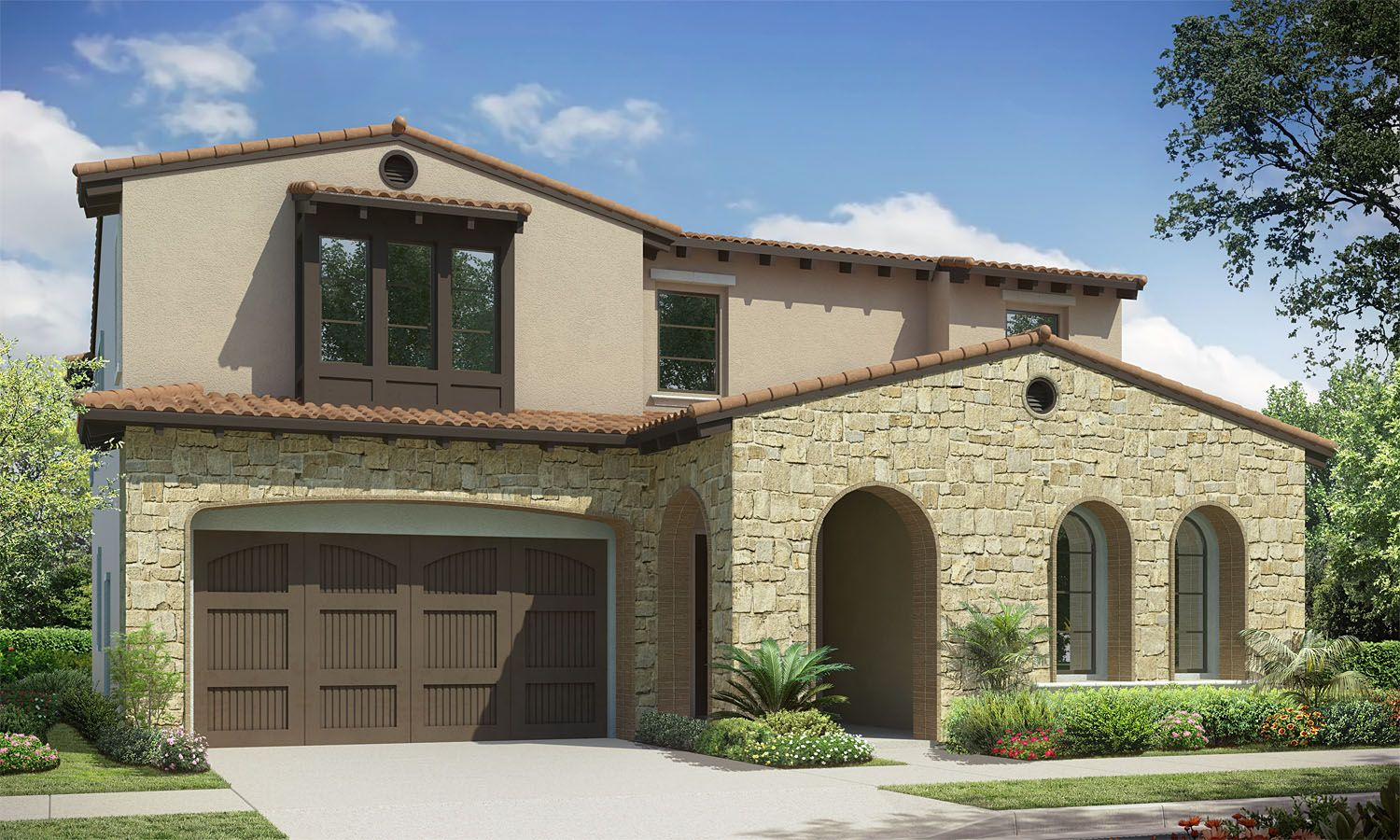 Exterior featured in the Residence 4 By Baldwin & Sons in Orange County, CA