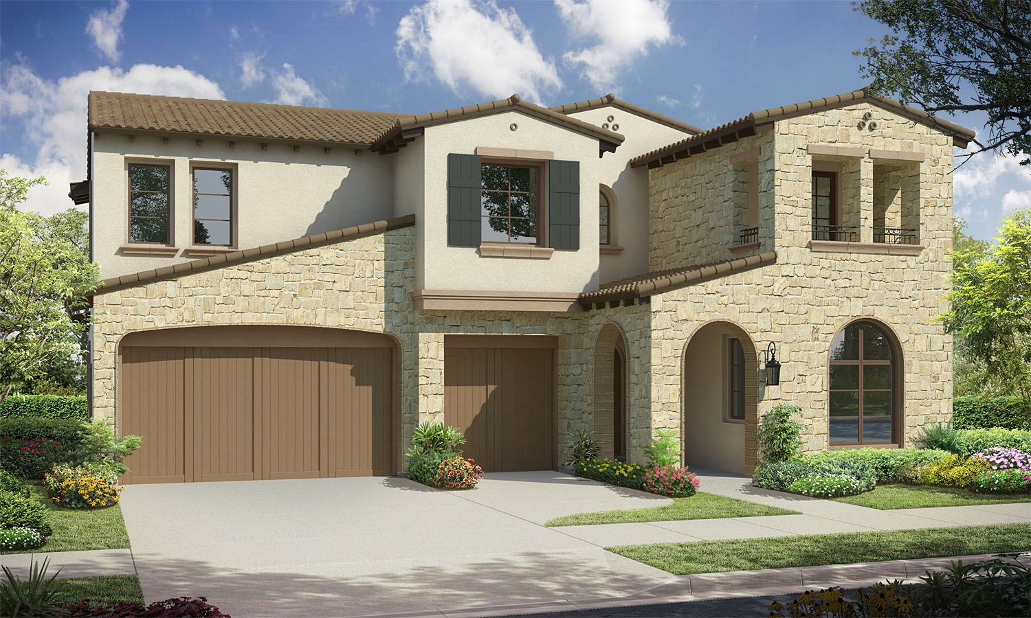 Exterior featured in the Residence 6 By Baldwin & Sons in Orange County, CA