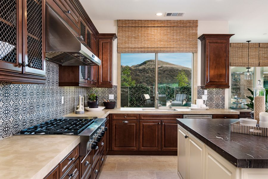 Kitchen featured in the Residence 4 By Baldwin & Sons in Orange County, CA