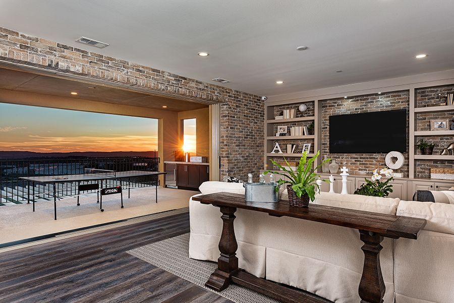 Living Area featured in the Residence 7 By Baldwin & Sons in Orange County, CA