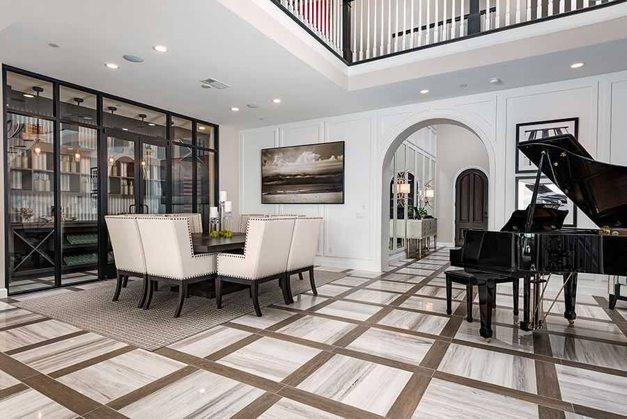 Living Area featured in the Residence 8 By Baldwin & Sons in Orange County, CA