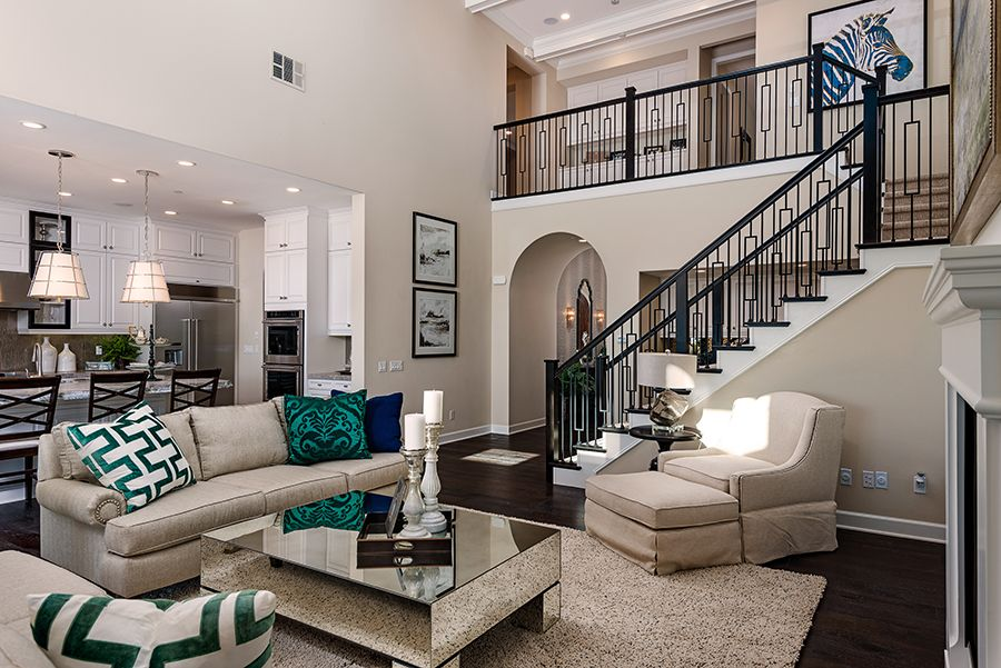 Living Area featured in the Residence 6 By Baldwin & Sons in Orange County, CA