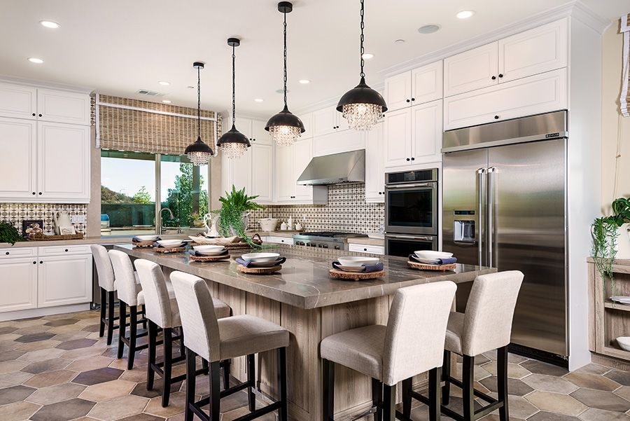Kitchen featured in the Residence 1 By Baldwin & Sons in Orange County, CA