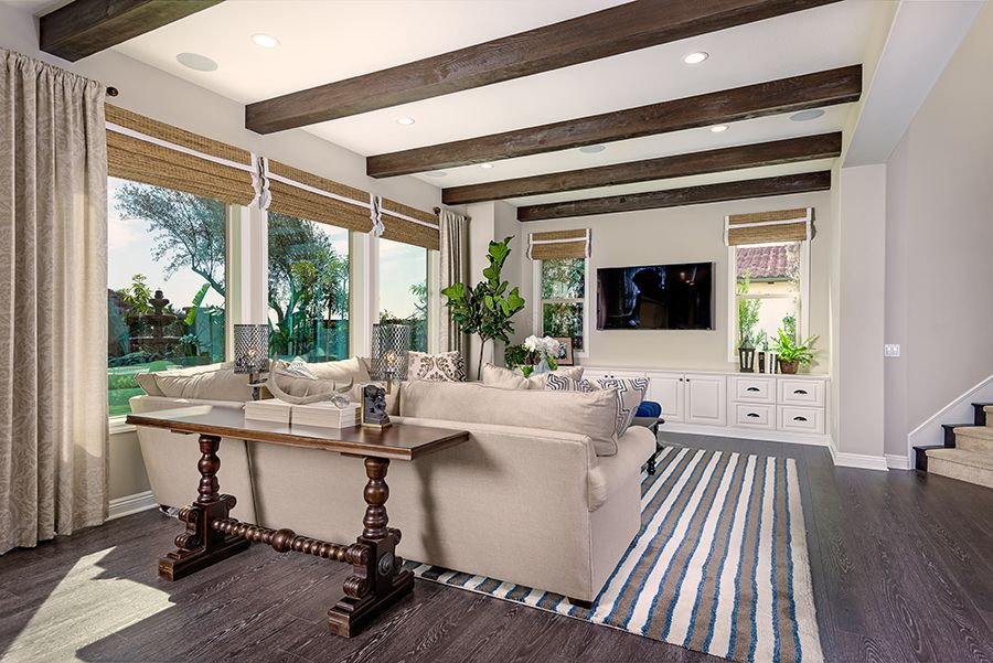 Living Area featured in the Residence 2 By Baldwin & Sons in Orange County, CA