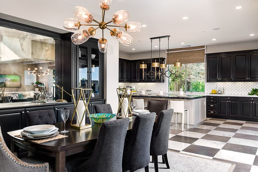 Kitchen featured in the Residence 3 By Baldwin & Sons in Orange County, CA
