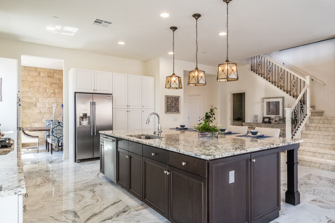 Kitchen featured in the Residence 3 By Heritage Building & Dev't in San Diego, CA