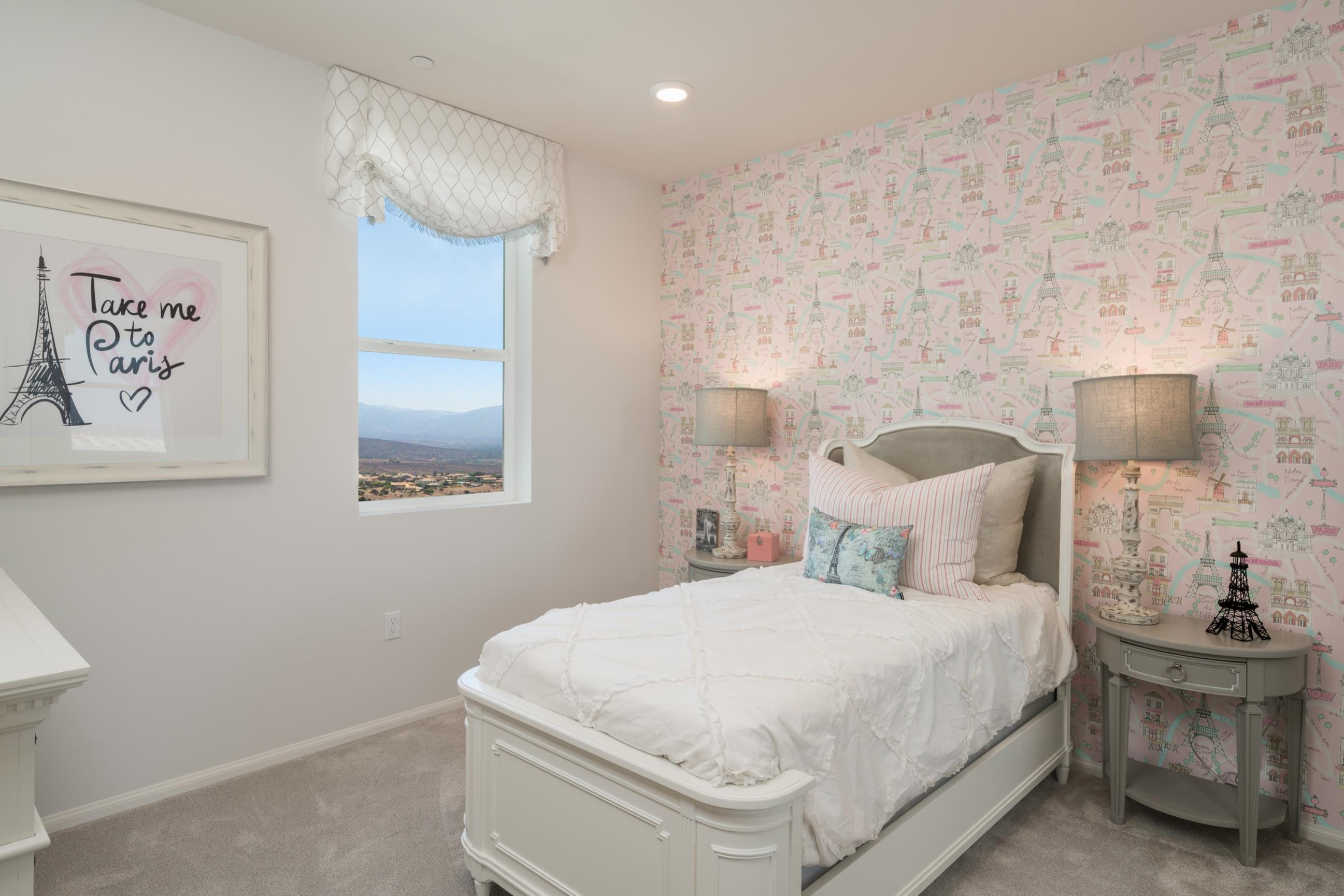 Bedroom featured in the Plan 4X By Heritage Building & Dev't in San Diego, CA