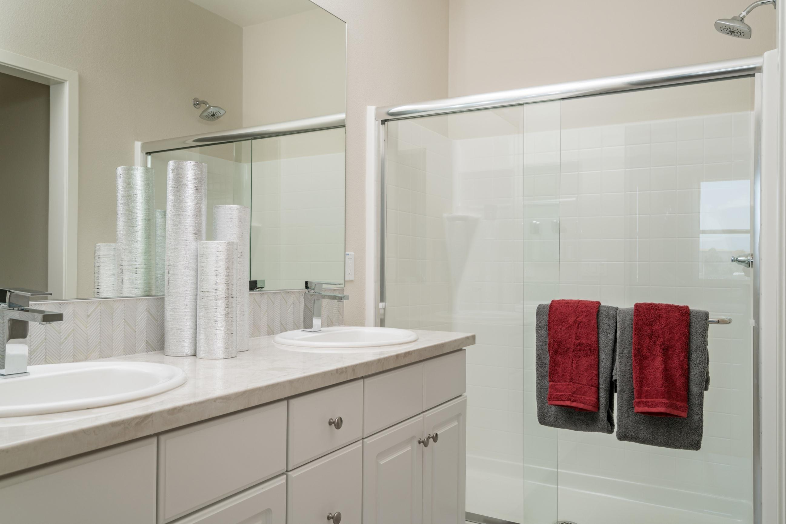 Bathroom featured in the Plan 1 By Heritage Building & Dev't in San Diego, CA