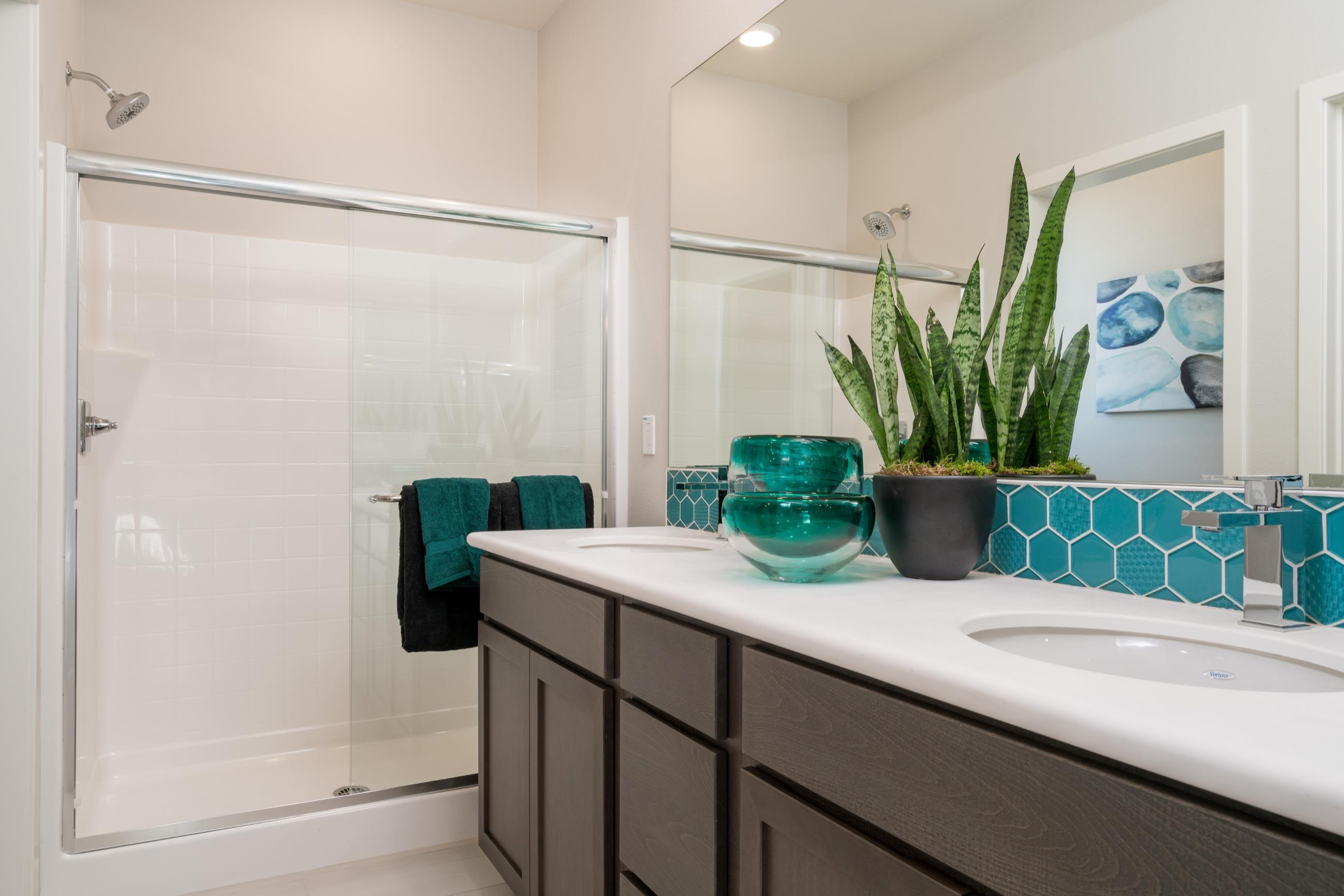 Bathroom featured in the Plan 2 By Heritage Building & Dev't in San Diego, CA