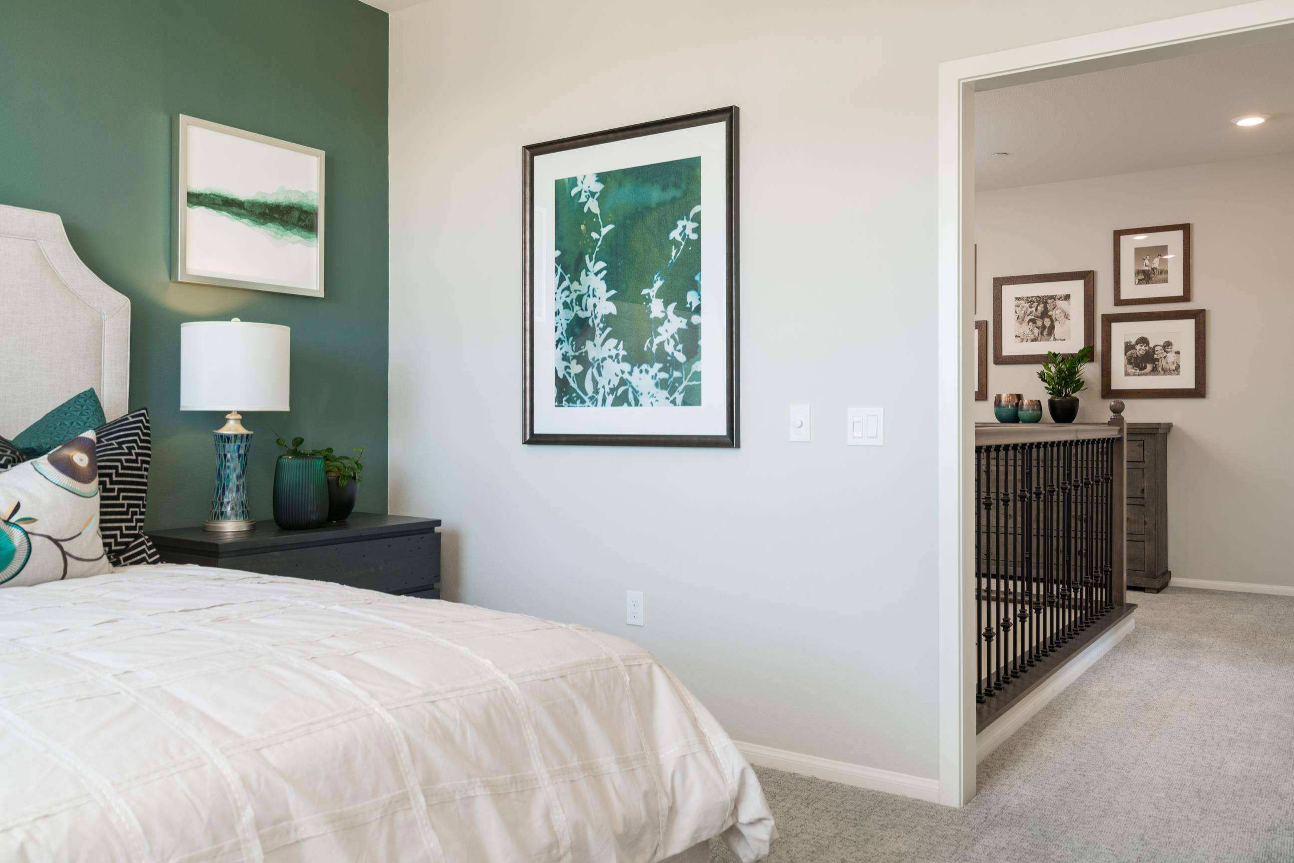 Bedroom featured in the Plan 2 By Heritage Building & Dev't in San Diego, CA