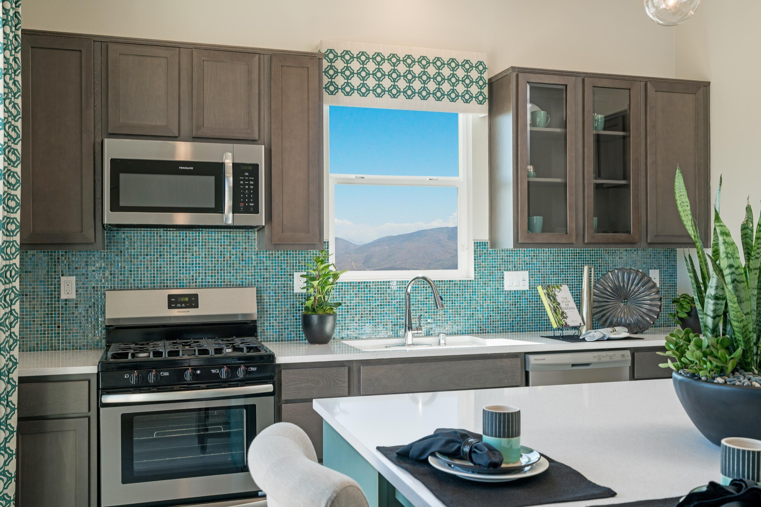 Kitchen featured in the Plan 2 By Heritage Building & Dev't in San Diego, CA